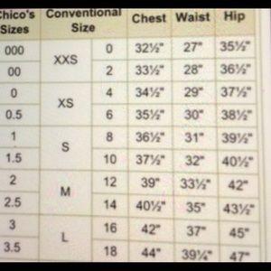 Chico's Tops - Chico's Black & White Chevron Cold Shoulder Blouse